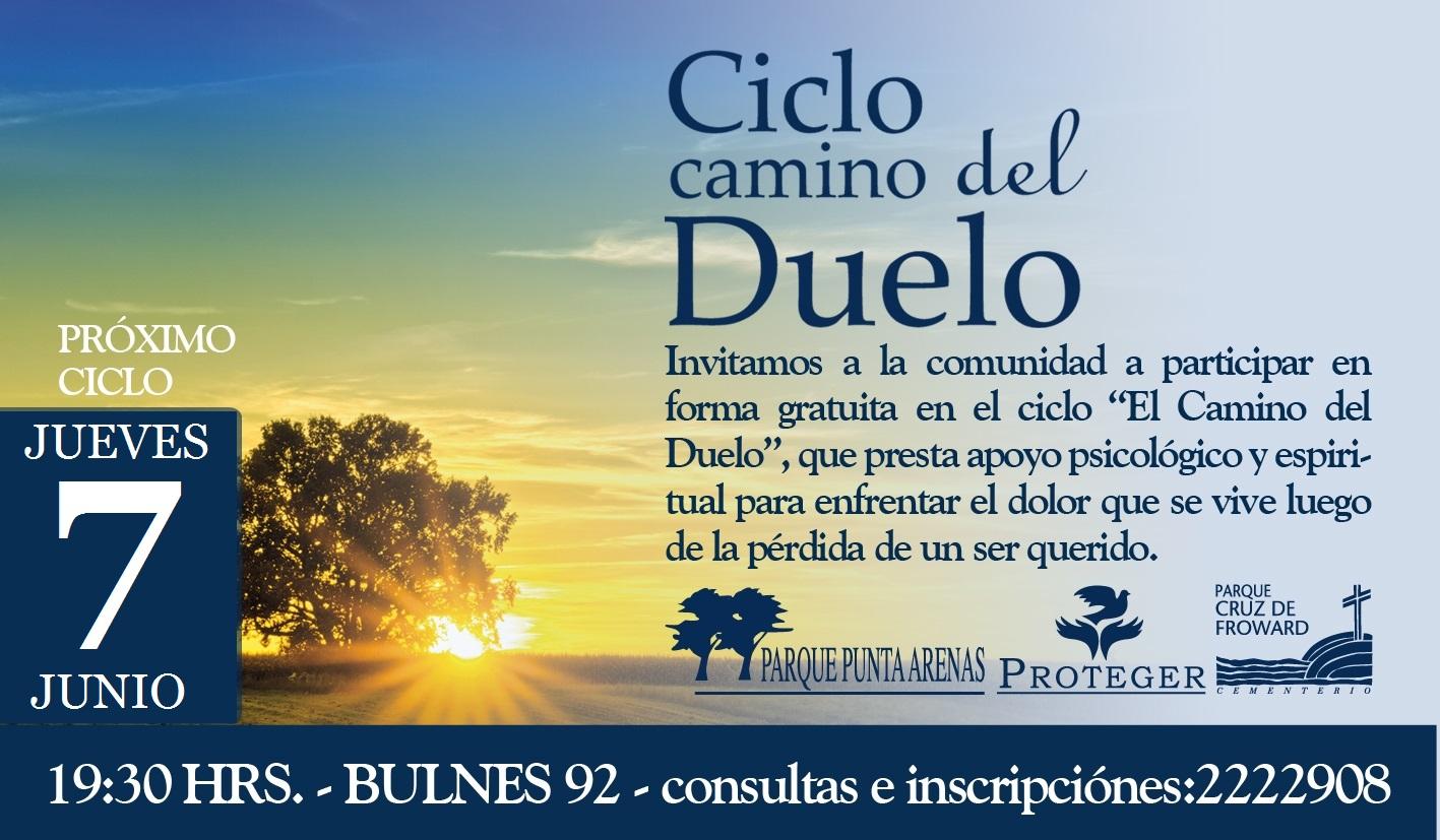"""Ciclo """"Camino del Duelo"""", 07 de Junio 2018"""