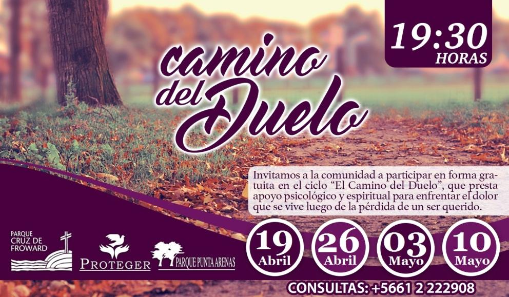 """Ciclo """"Camino del Duelo"""", 19 de Abril 2018"""
