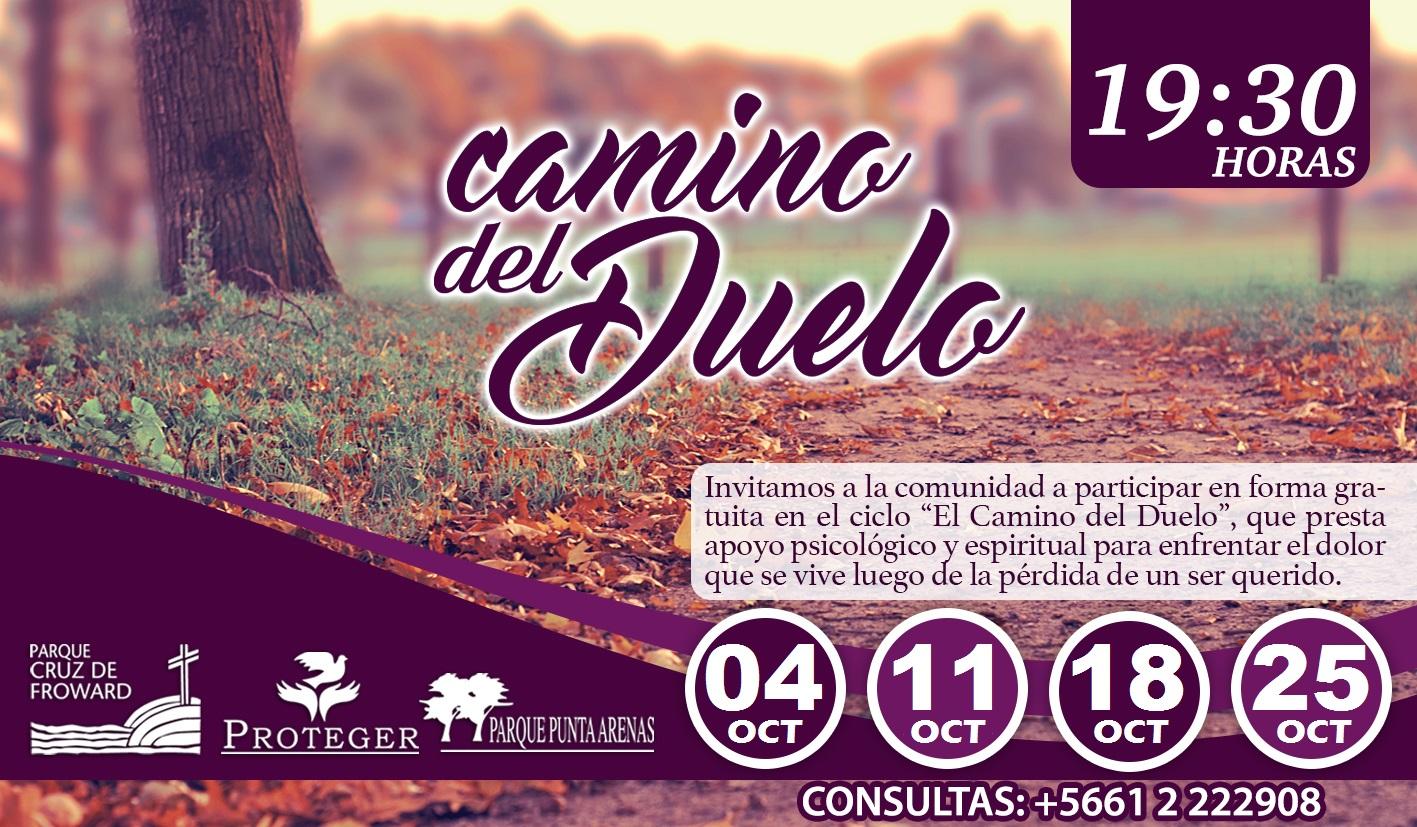 """Ciclo """"Camino del Duelo"""", 04 de Octubre 2018"""