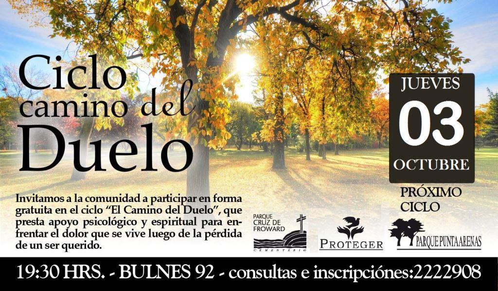 """Ciclo """"Camino del Duelo"""" 03 0ct."""