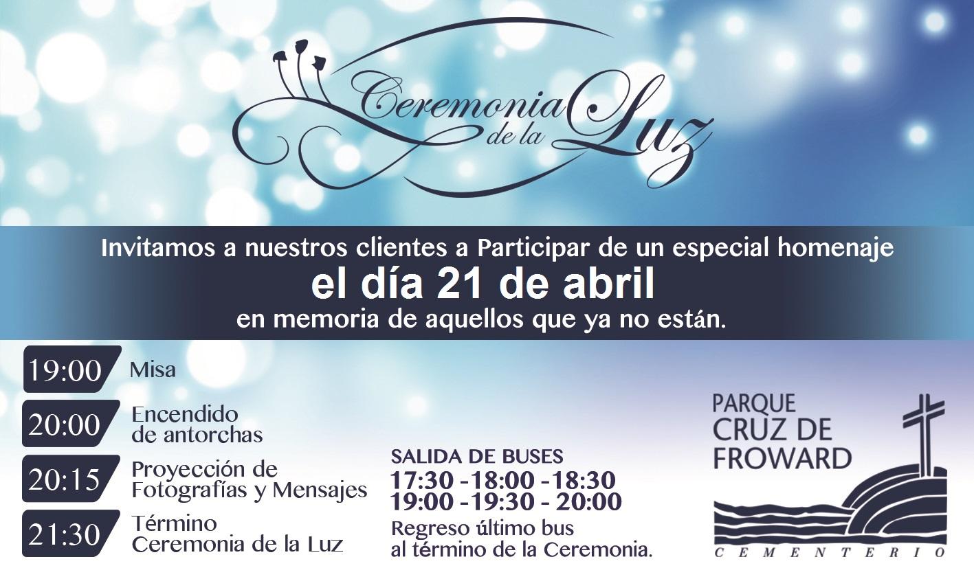 Ceremonia de la Luz Parque Curz de Froward