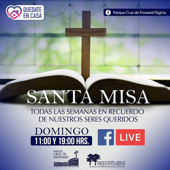 Misa Dominical Por Facebook Live