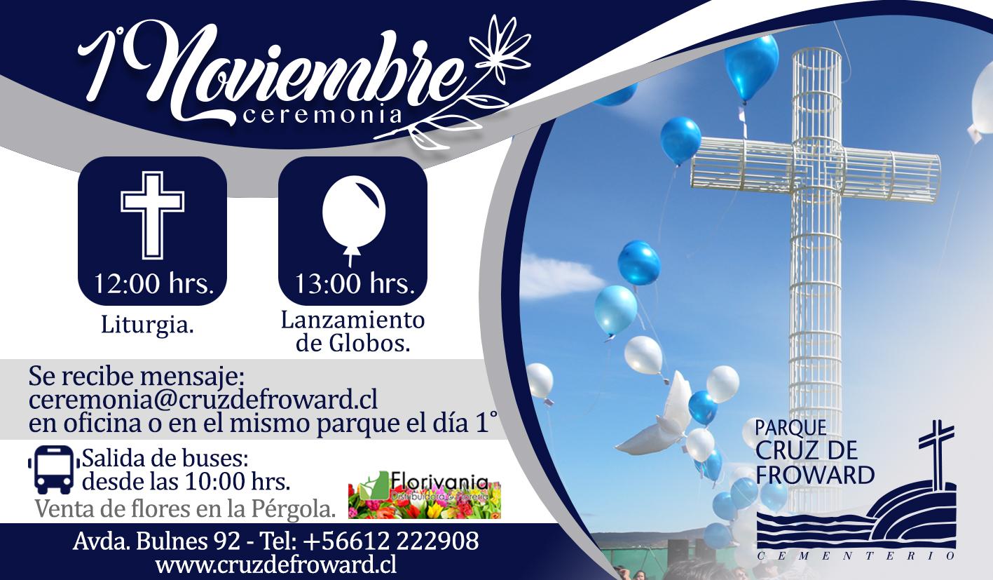 Invitación Ceremonia 1° de Noviembre